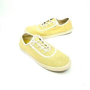 Toms Carmel yellow low profile sneakers